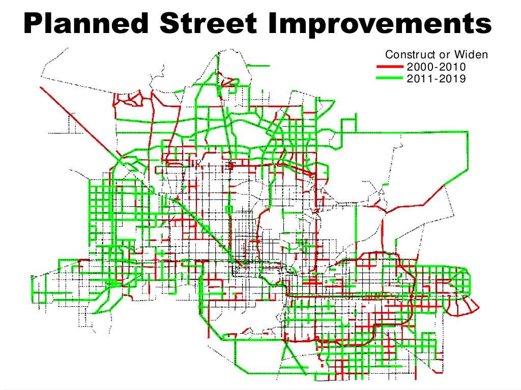Planned Street Improvements
