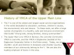 history of ymca of the upper main line5