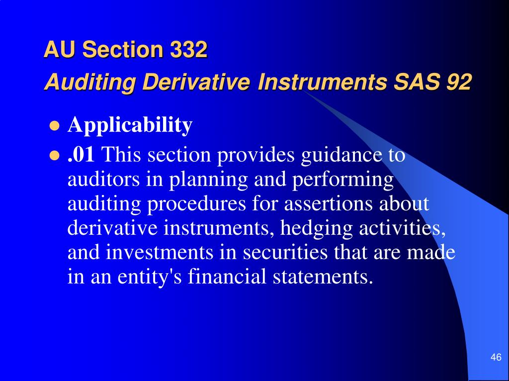 AU Section 332