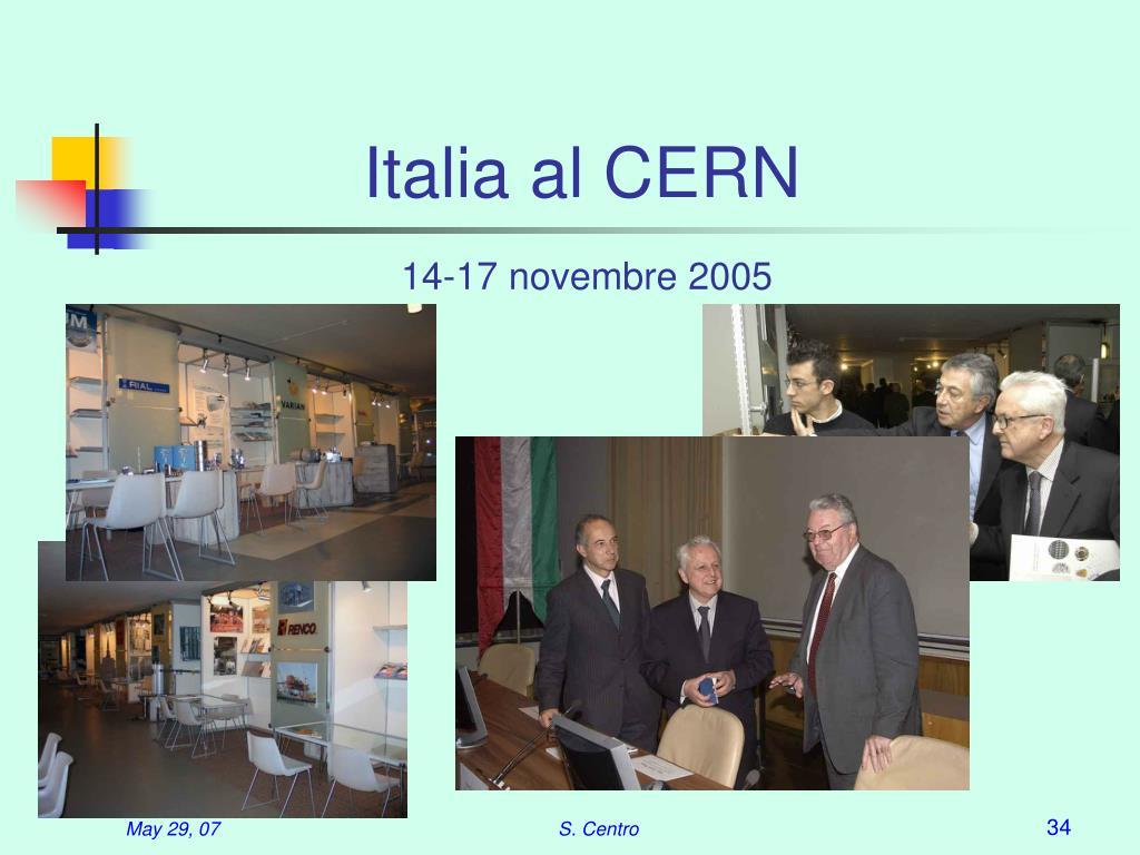 Italia al CERN