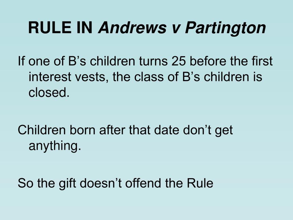 RULE IN
