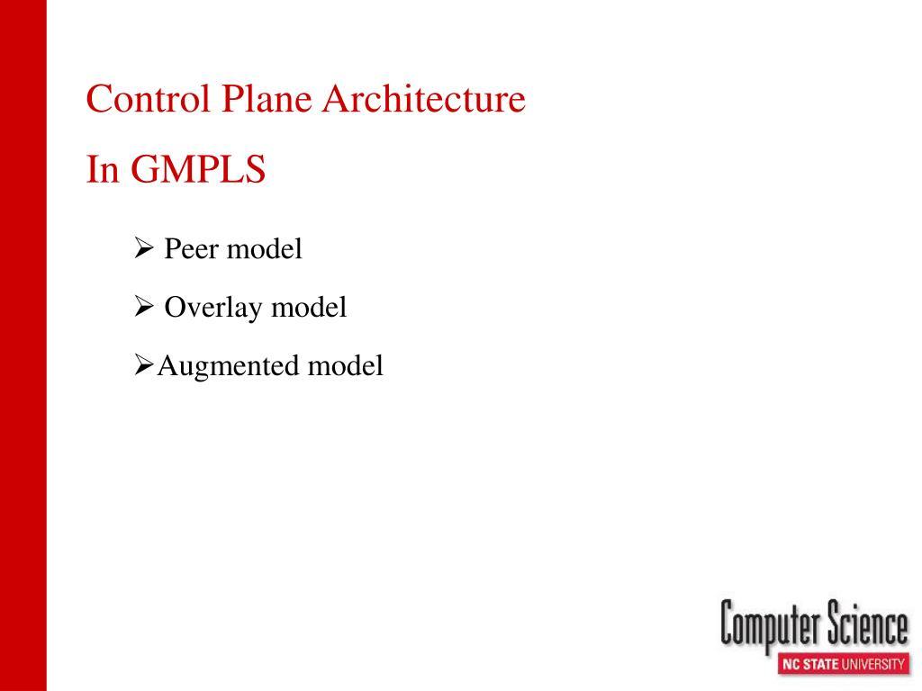 Control Plane Architecture