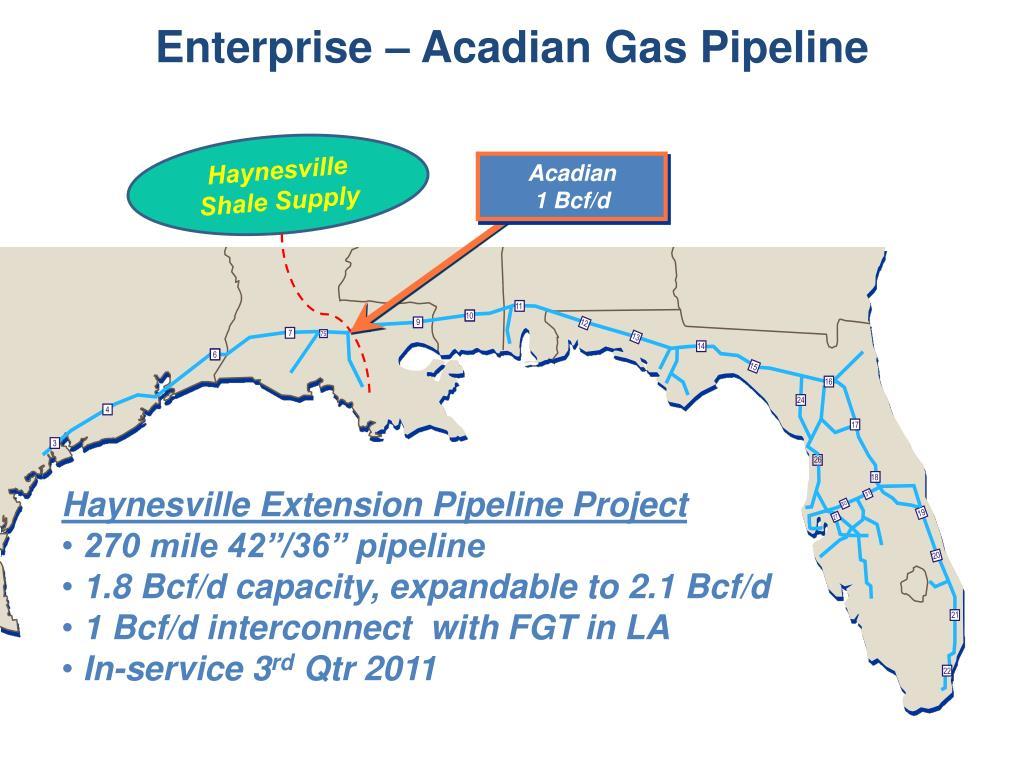 Enterprise – Acadian Gas Pipeline