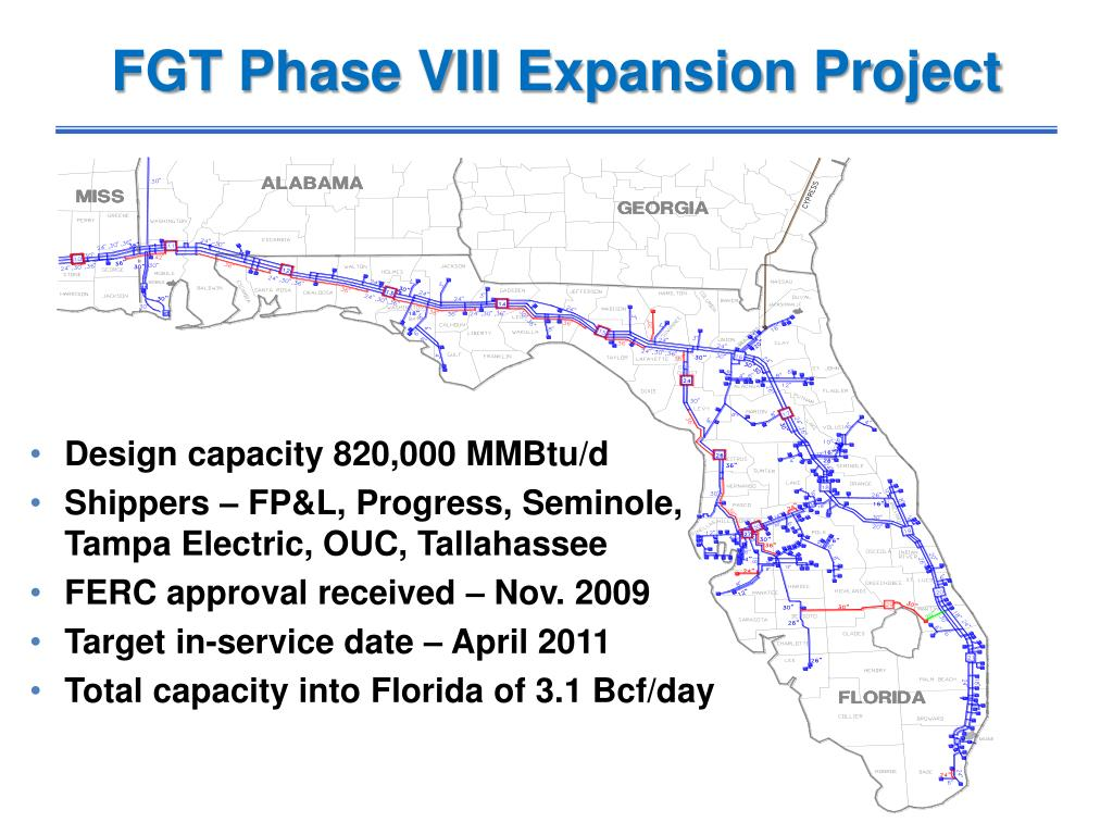FGT Phase VIII Expansion Project
