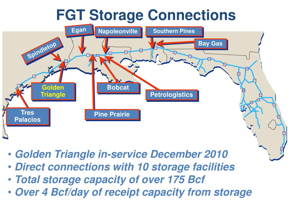 FGT Storage Connections