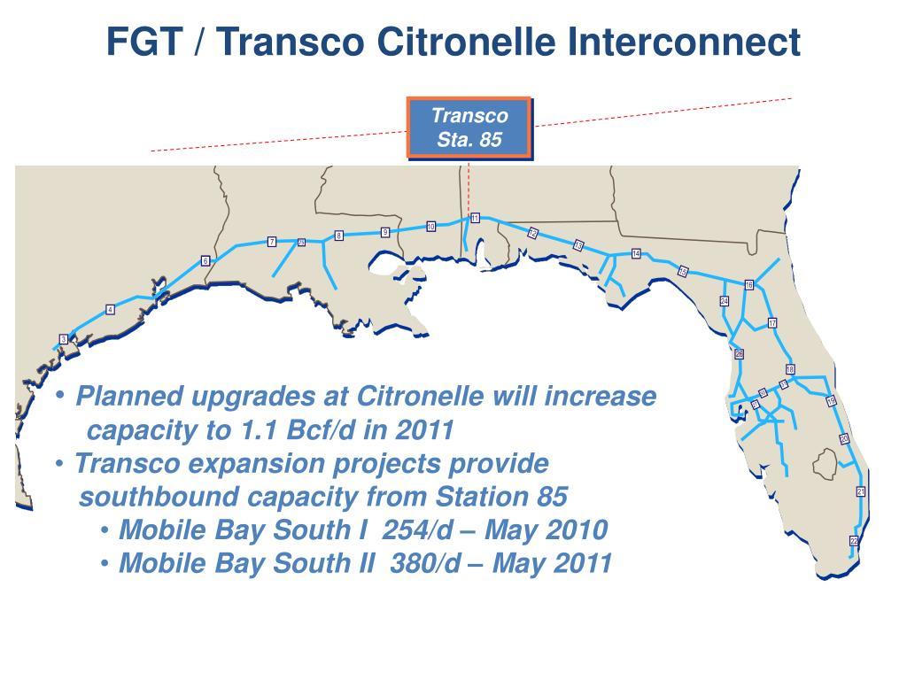FGT / Transco Citronelle Interconnect