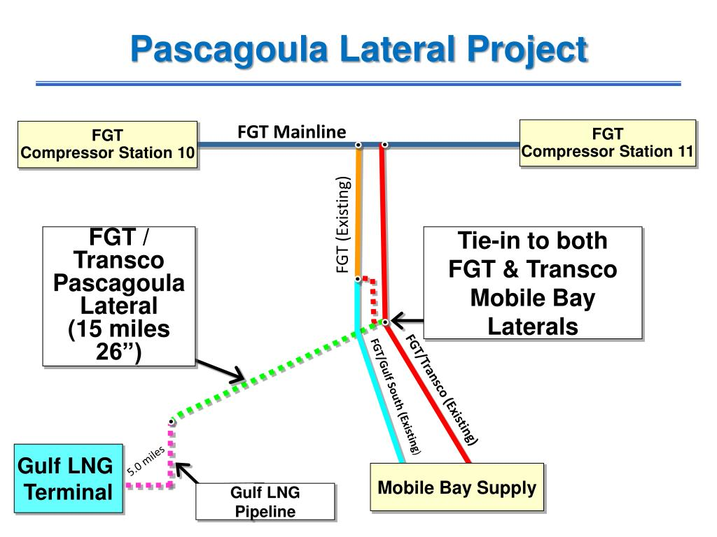Pascagoula Lateral Project