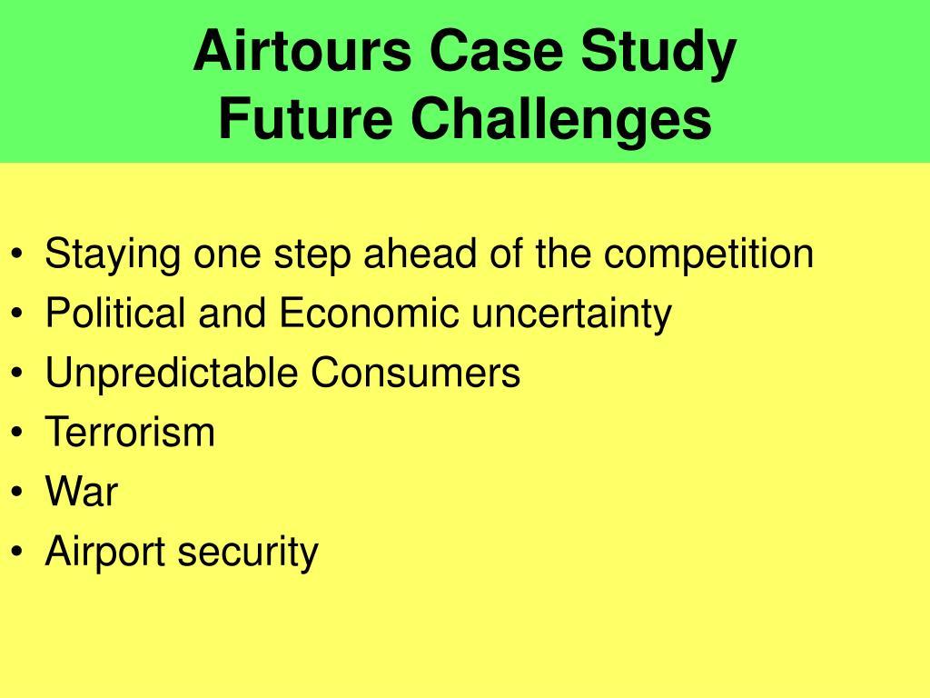 Airtours Case Study