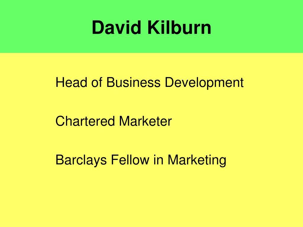 David Kilburn