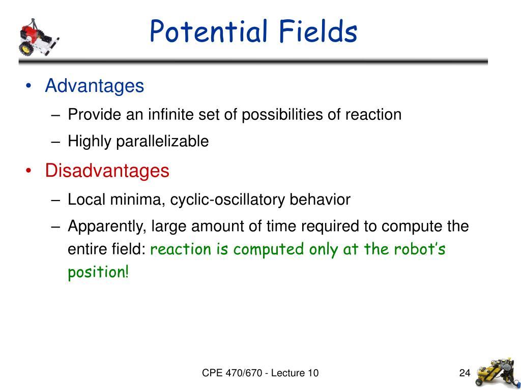 Potential Fields