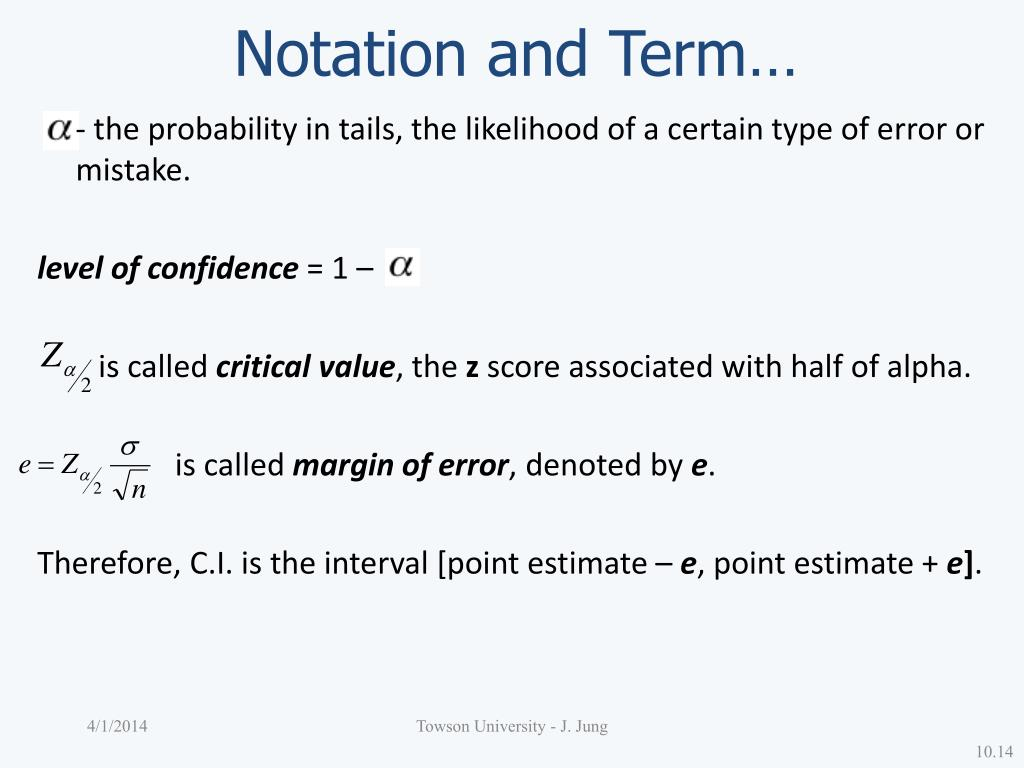Notation and Term…