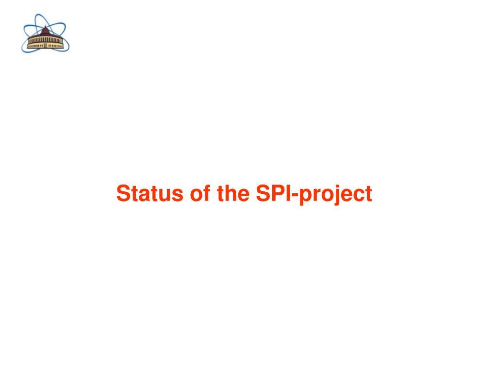 Status of the