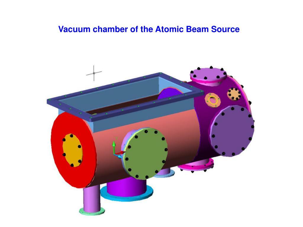 Vacuum chamber of the Atomic Beam Source