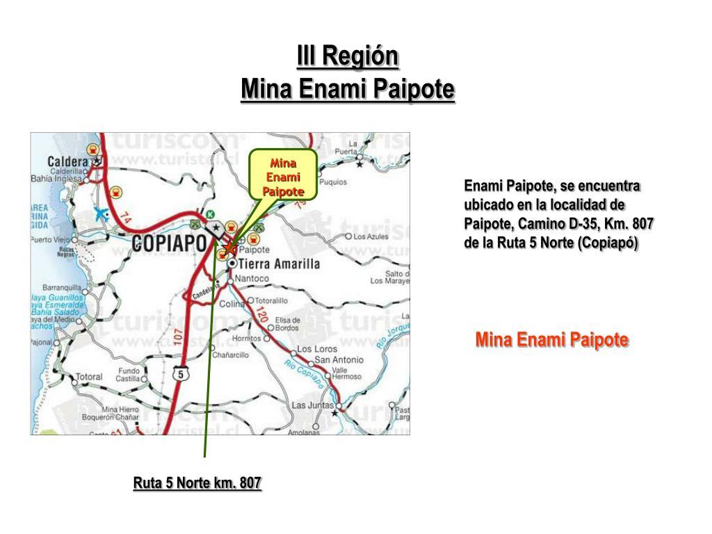 III Región