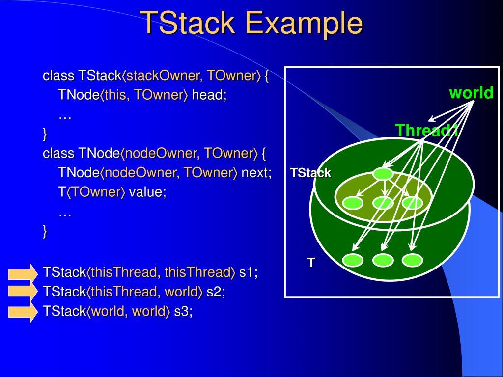 TStack Example