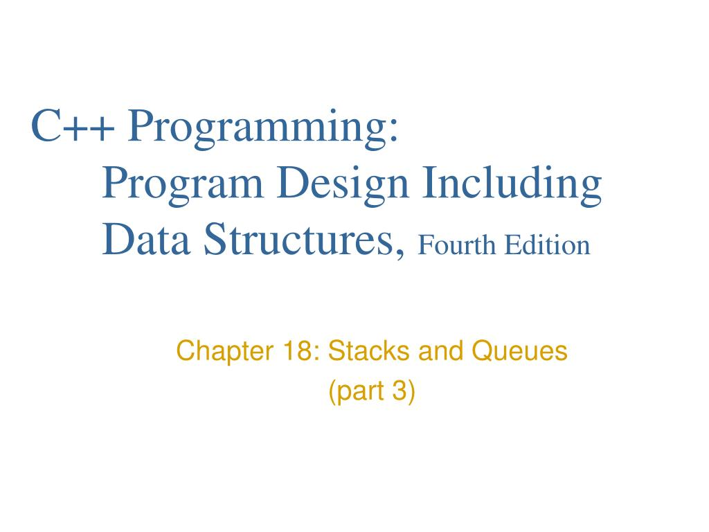 C++ Programming: