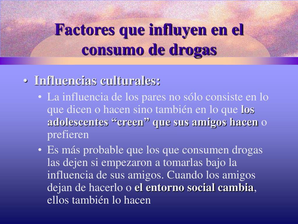 Factores que influyen en el
