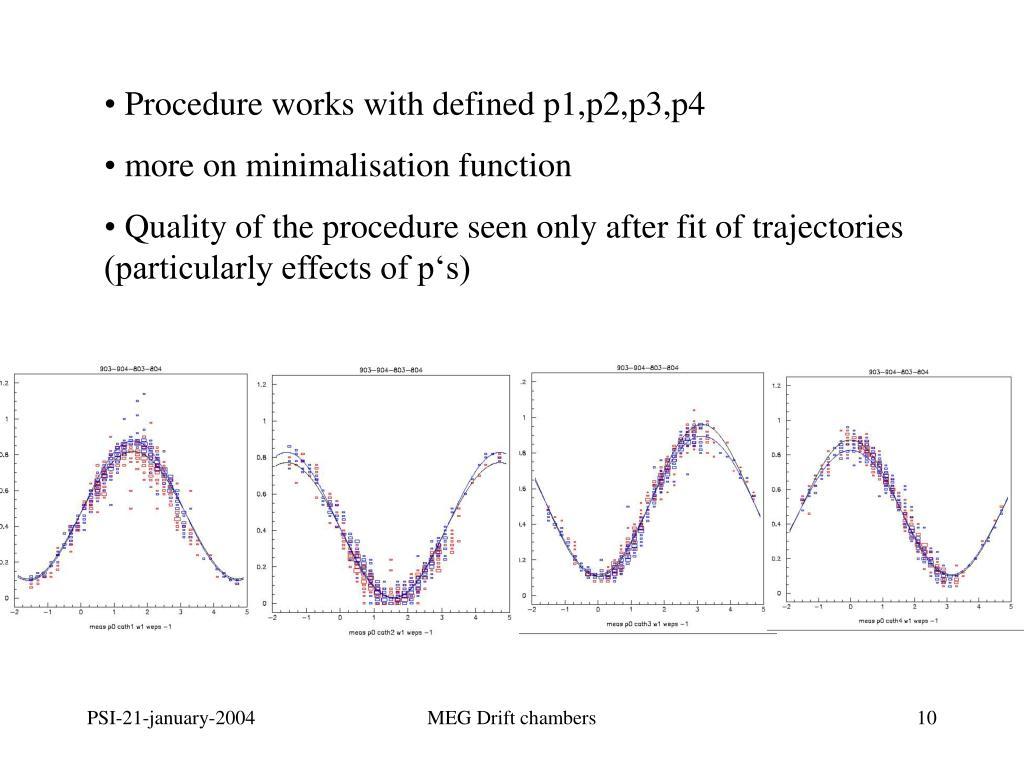 more on minimalisation function