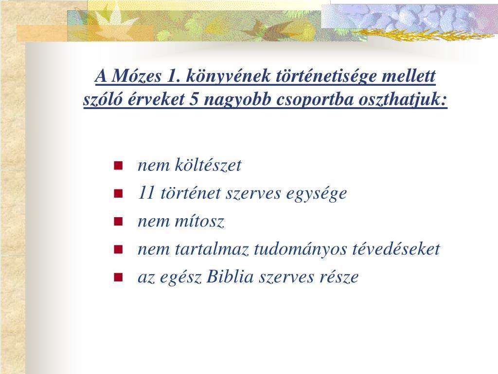 A Mózes 1. könyvének