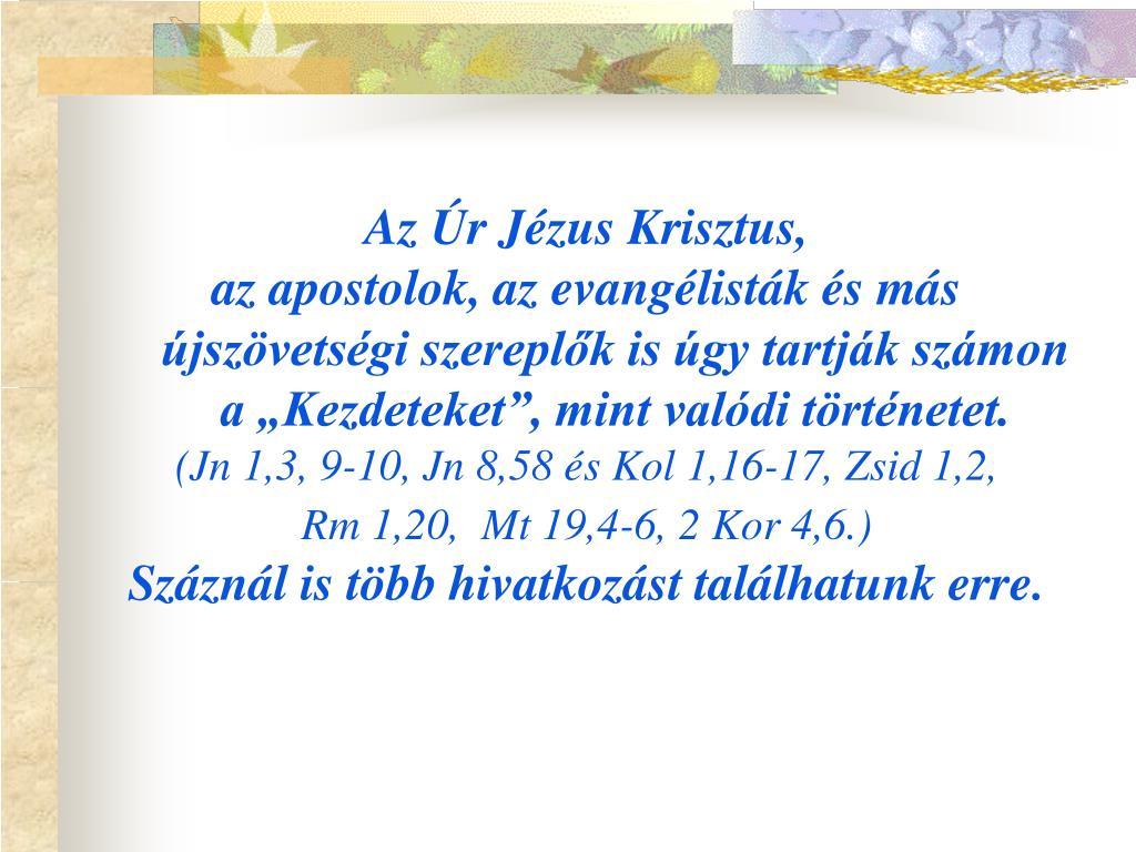 Az Úr Jézus Krisztus