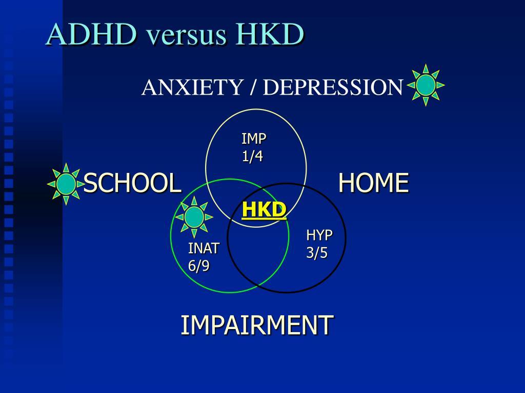 ADHD versus HKD