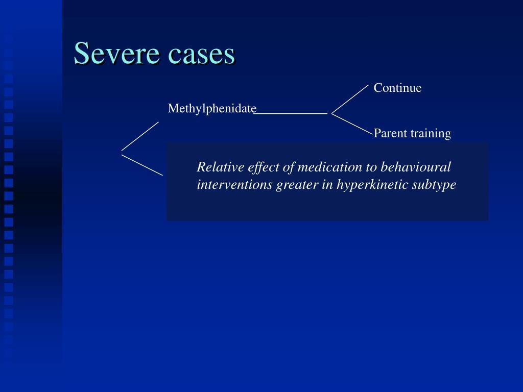 Severe cases
