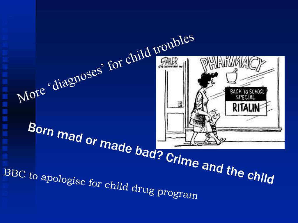 More 'diagnoses' for child troubles