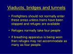 viaducts bridges and tunnels