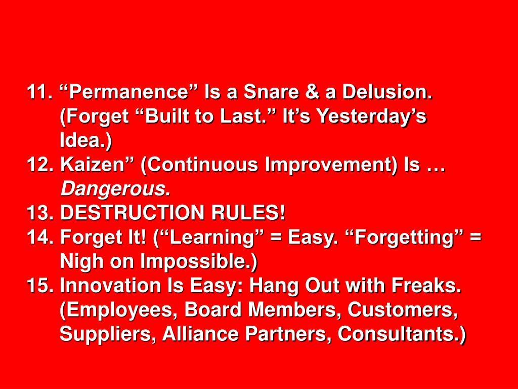 """11. """"Permanence"""" Is a Snare & a Delusion."""