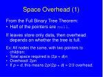 space overhead 1