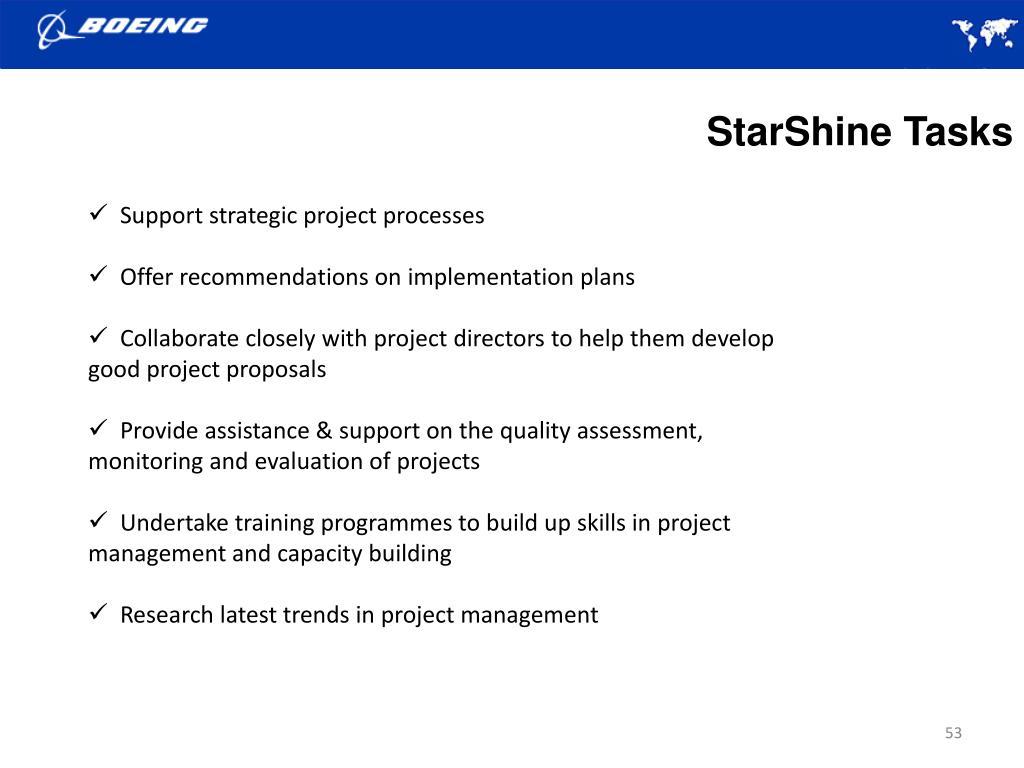 StarShine Tasks