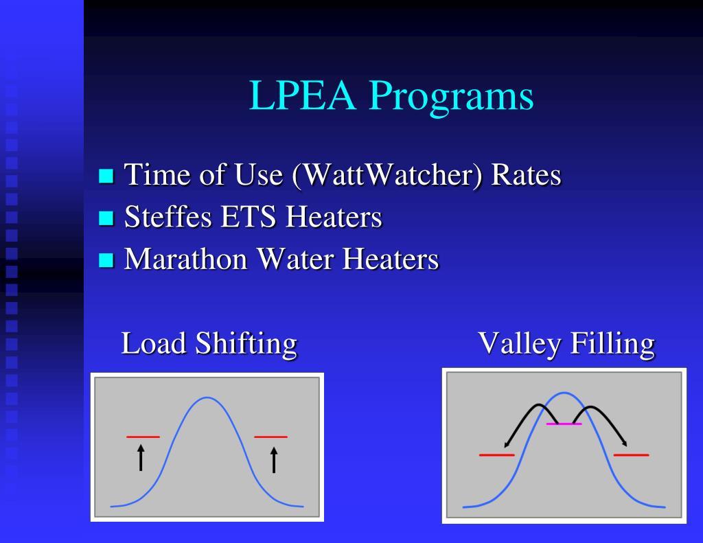 LPEA Programs