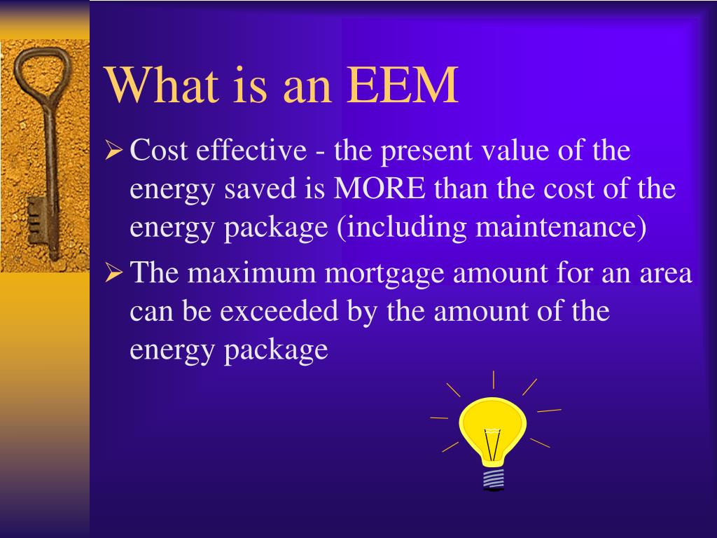 What is an EEM