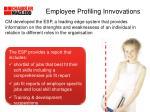 employee profiling innvovations