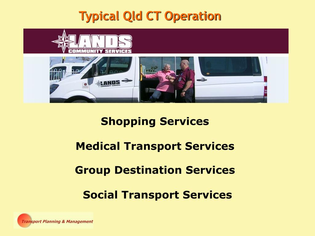 Typical Qld CT Operation