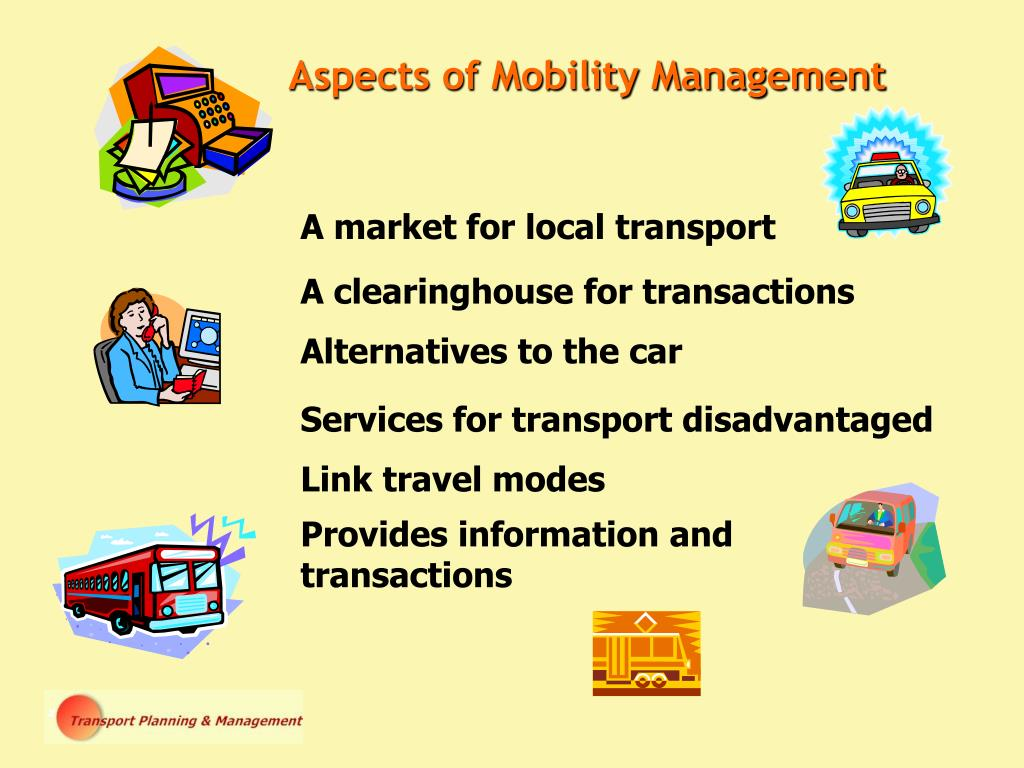 Aspects of Mobility Management