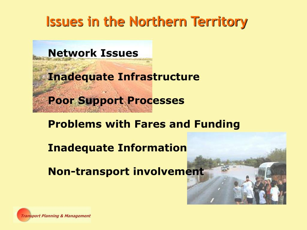 Issues in the Northern Territory