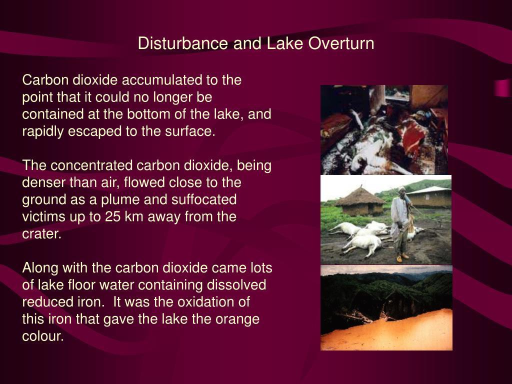 Disturbance and Lake Overturn