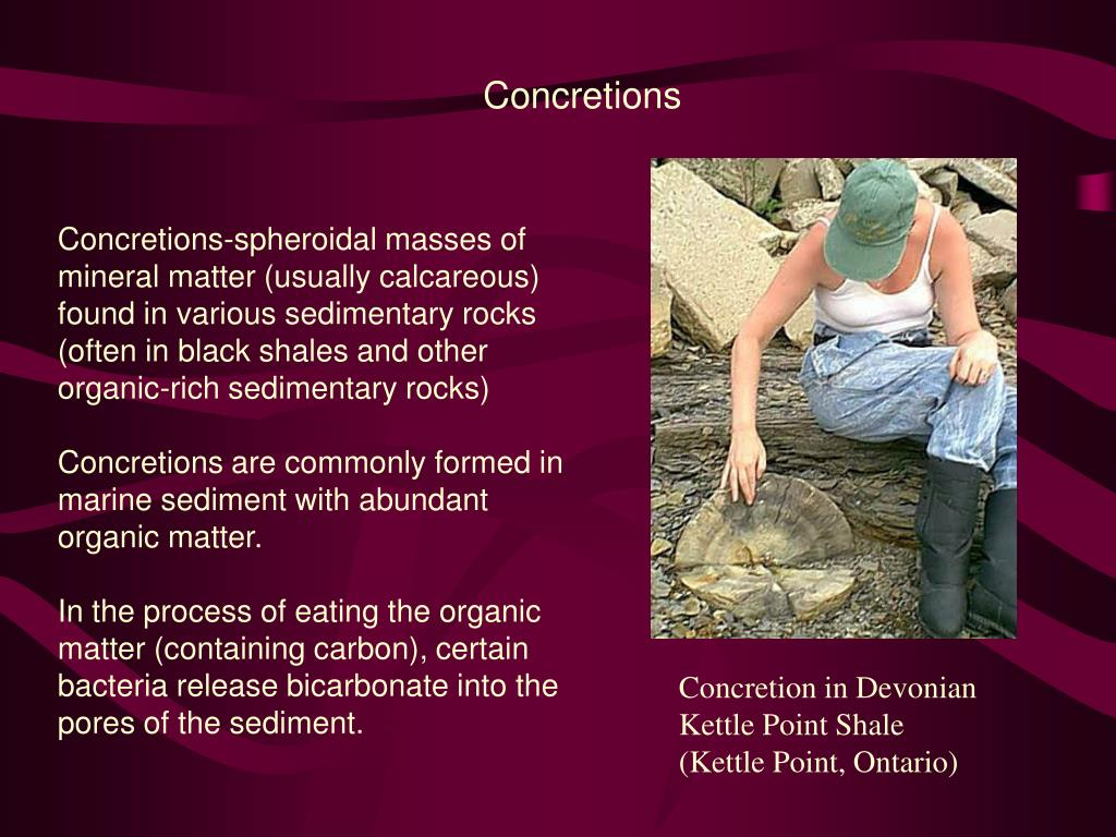 Concretions