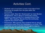 activities cont10