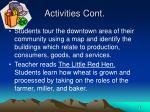 activities cont18