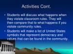 activities cont22