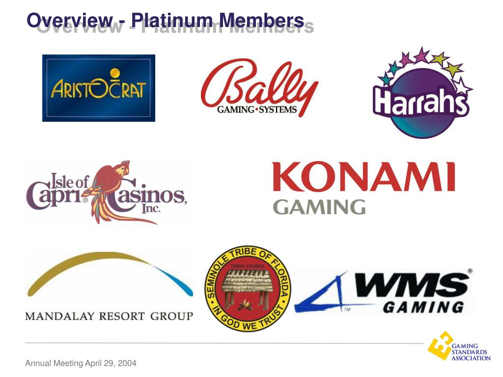 Overview - Platinum Members