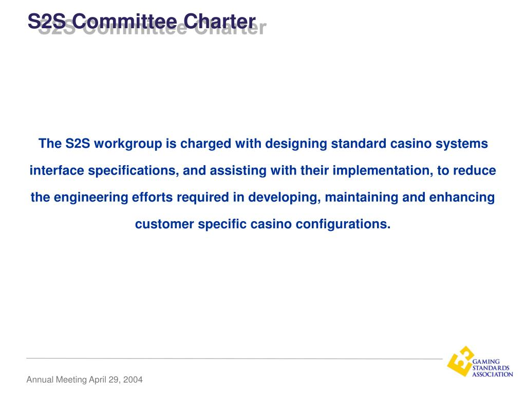 S2S Committee Charter