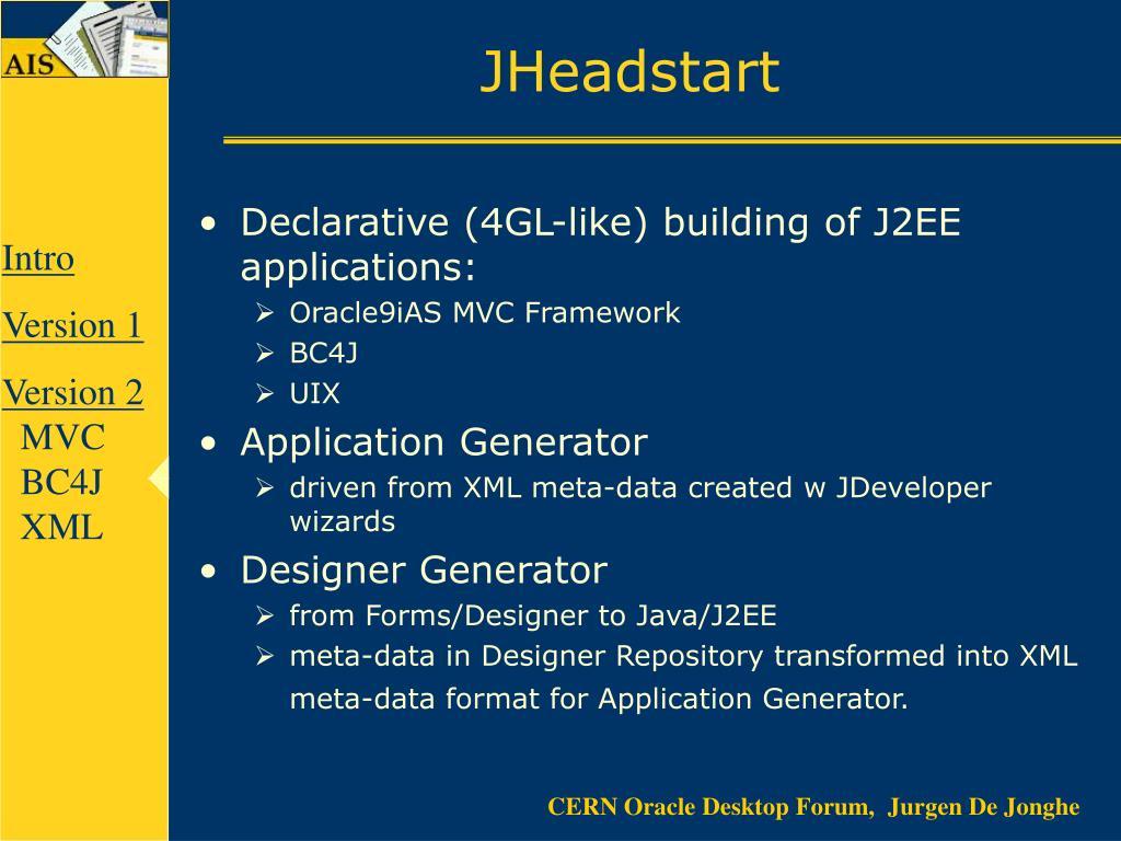 JHeadstart