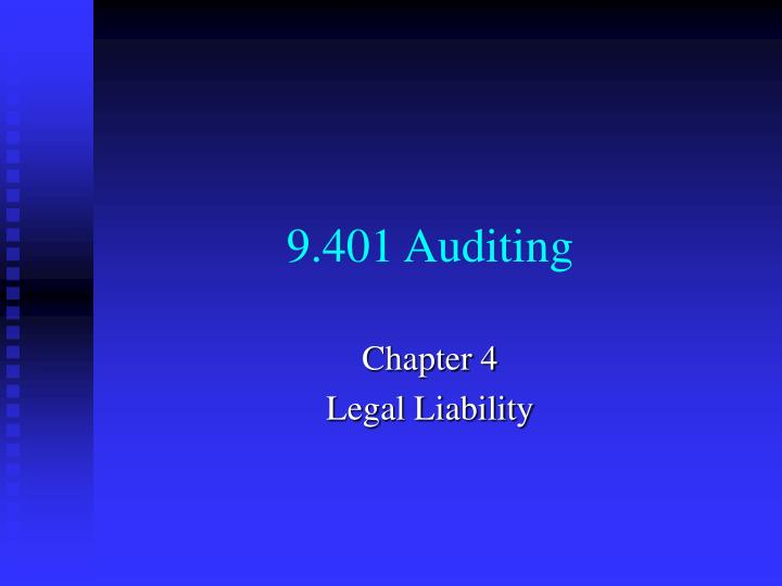 9 401 auditing
