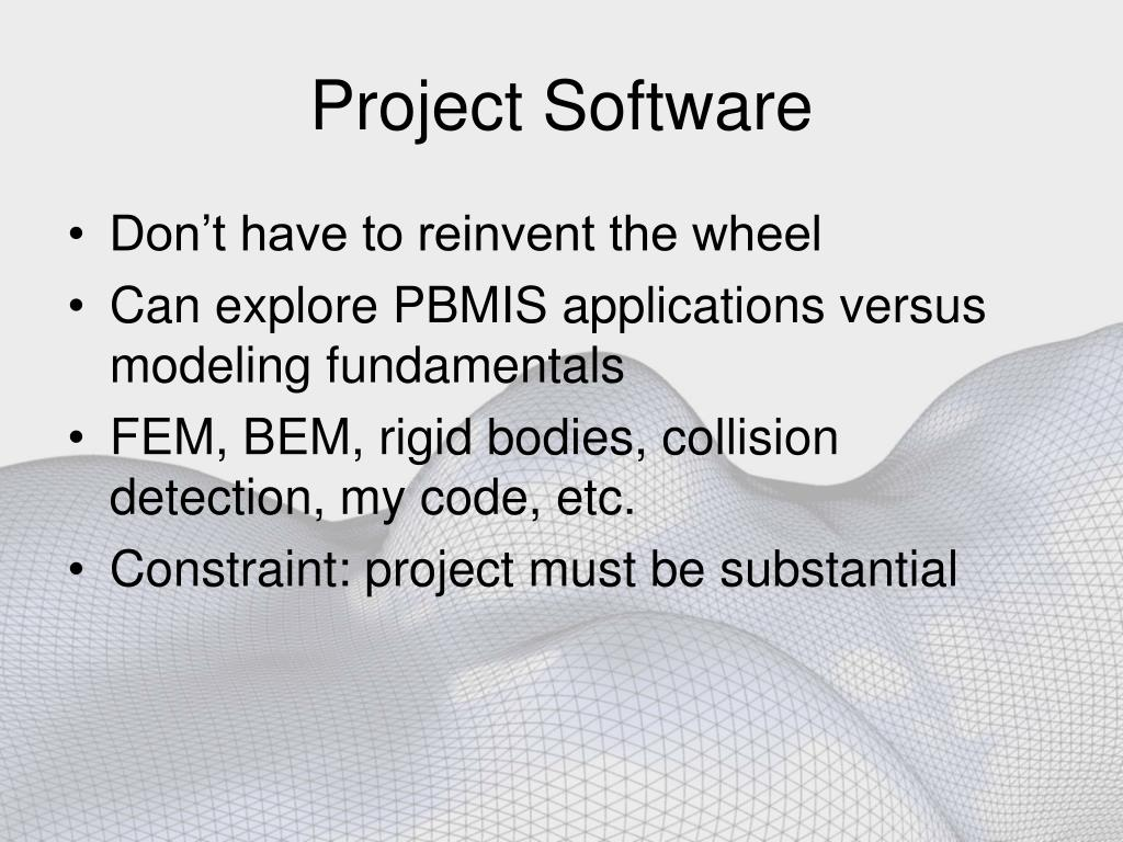 Project Software