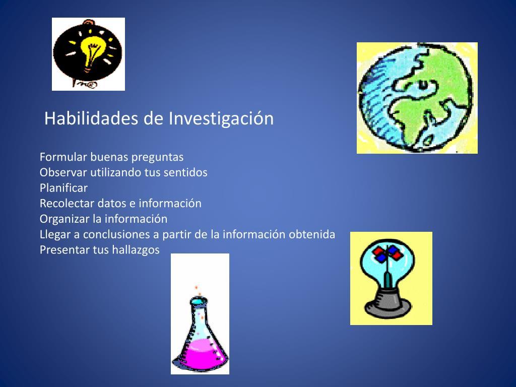 Habilidades de Investigación