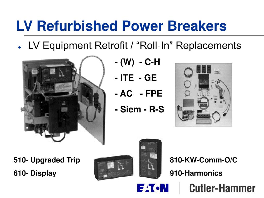 LV Refurbished Power Breakers