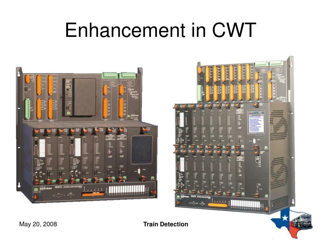 Enhancement in CWT